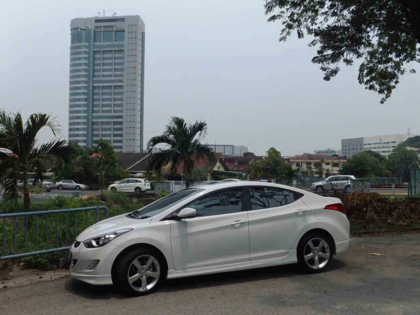 Hyundai Elantra MD 1.8 Premium test drive review Image #135038