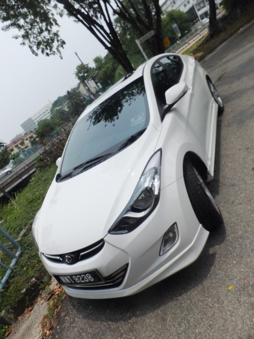 Hyundai Elantra MD 1.8 Premium test drive review Image #135039