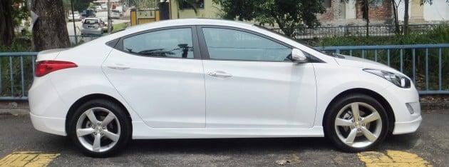Hyundai Elantra MD 1 8 Premium test drive review