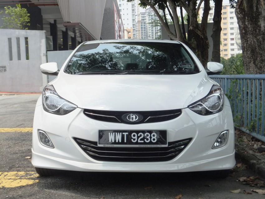 Hyundai Elantra MD 1.8 Premium test drive review Image #135041