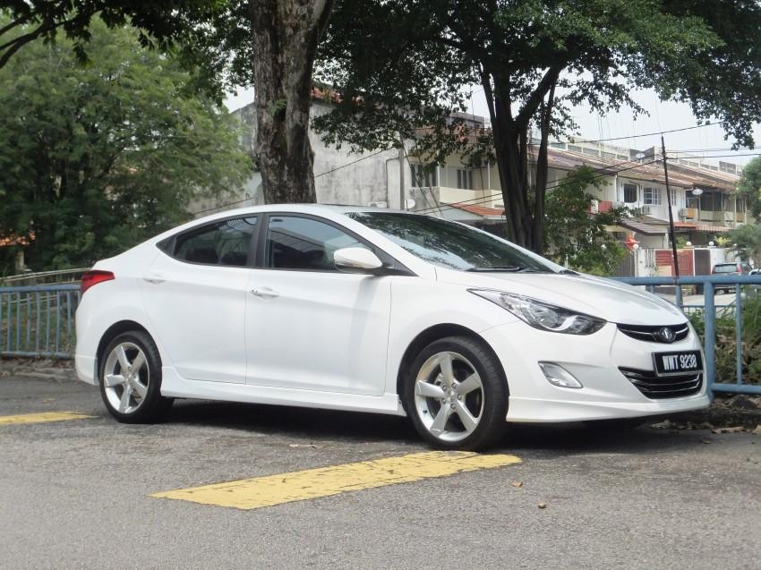 Hyundai Elantra MD 1.8 Premium test drive review Image #135042
