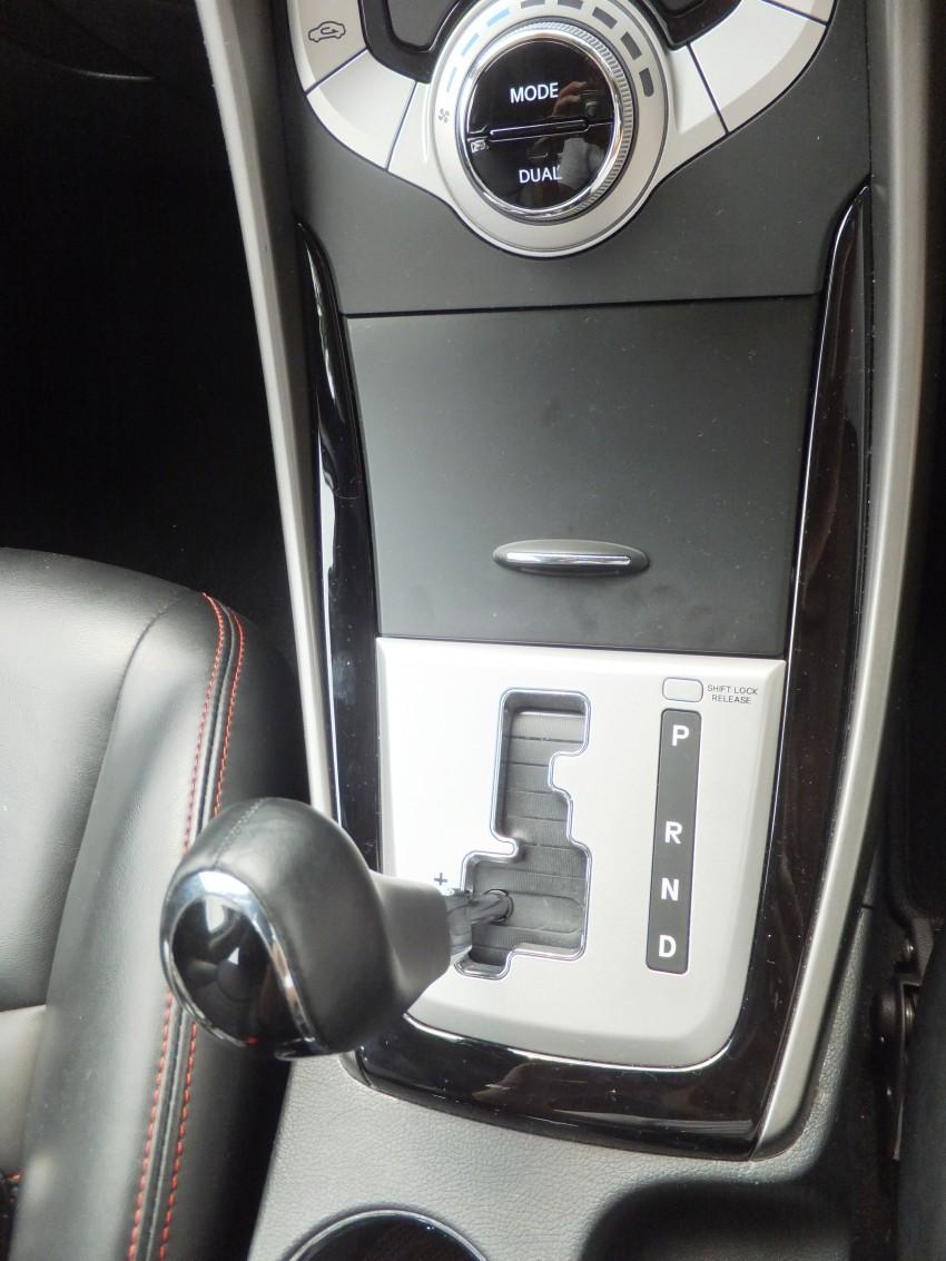 Hyundai Elantra MD 1.8 Premium test drive review Image #135045