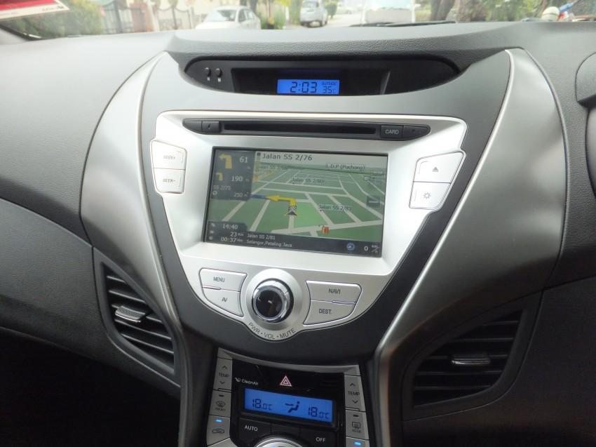 Hyundai Elantra MD 1.8 Premium test drive review Image #135047