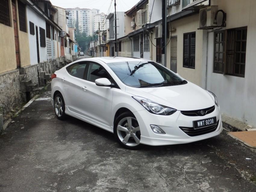 Hyundai Elantra MD 1.8 Premium test drive review Image #135050