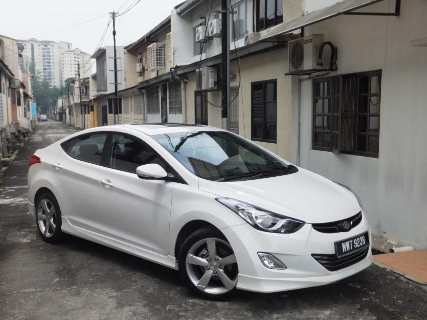 Hyundai Elantra MD 1.8 Premium test drive review Image #135051