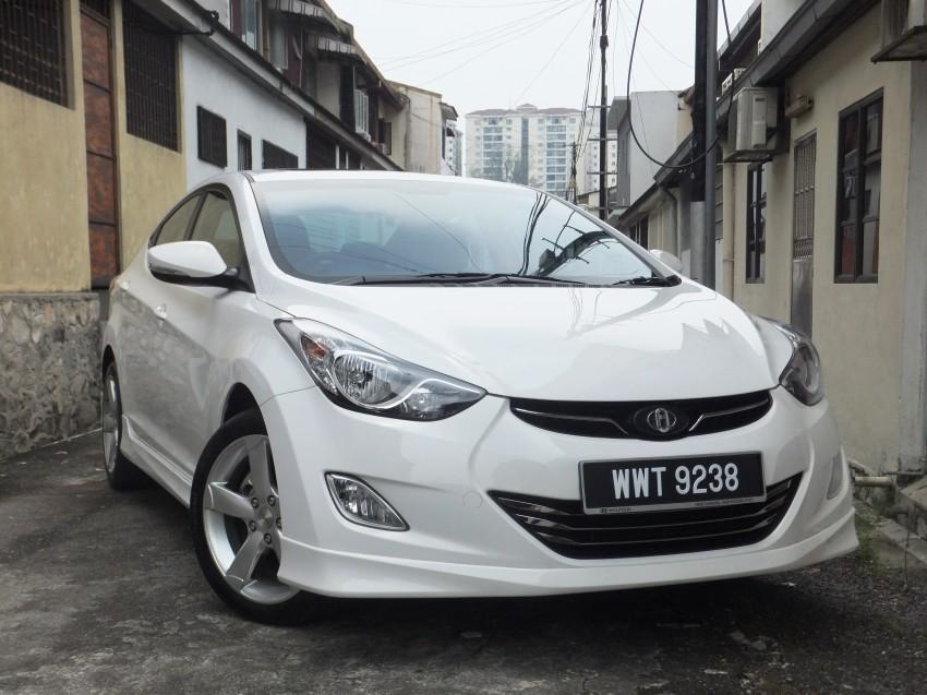 Hyundai Elantra MD 1.8 Premium test drive review Image #135052