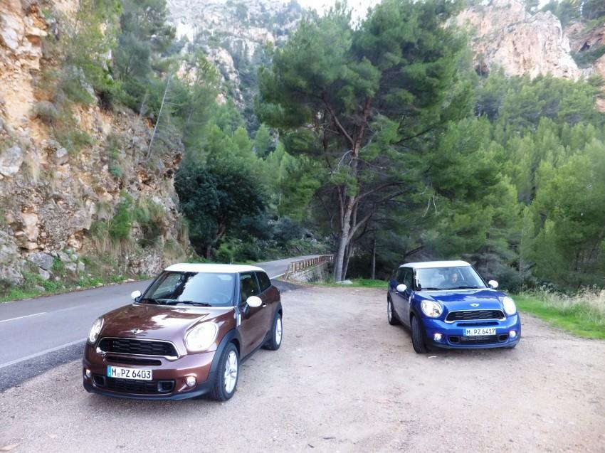 DRIVEN: The new MINI Paceman in Mallorca, Spain Image #143883
