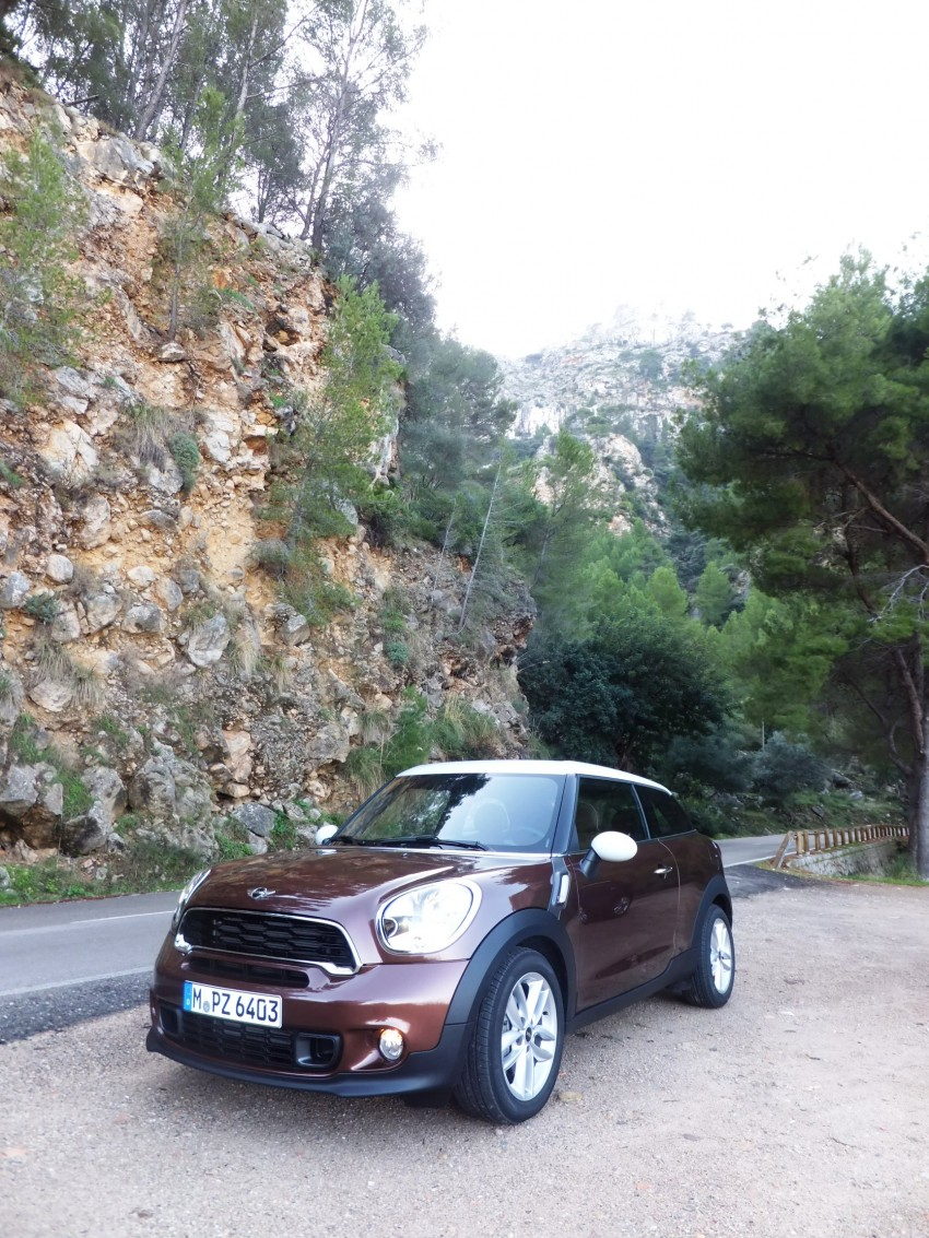 DRIVEN: The new MINI Paceman in Mallorca, Spain Image #143884