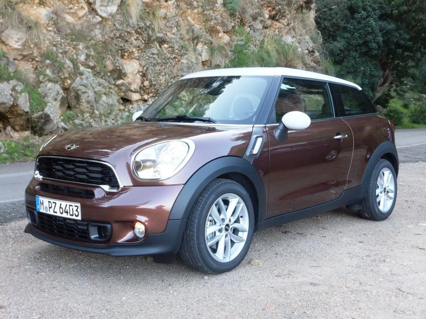 DRIVEN: The new MINI Paceman in Mallorca, Spain Image #143885