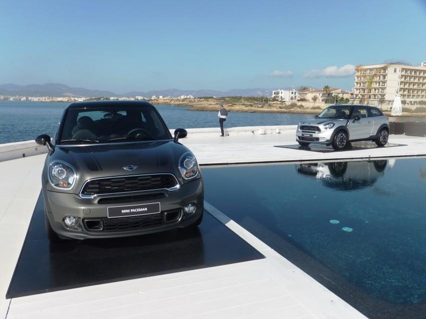 DRIVEN: The new MINI Paceman in Mallorca, Spain Image #143910