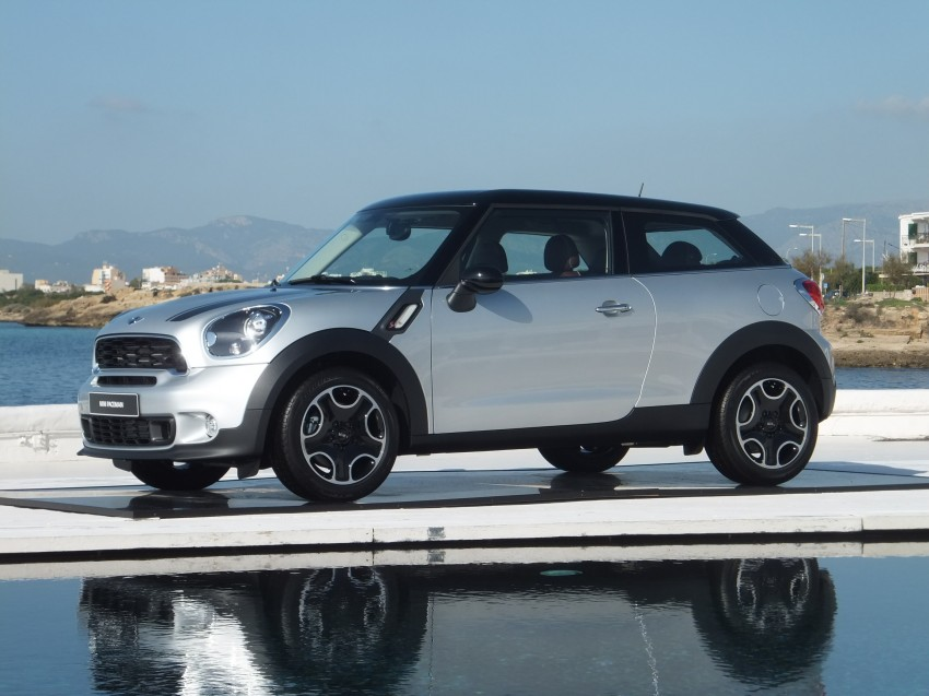 DRIVEN: The new MINI Paceman in Mallorca, Spain Image #143912