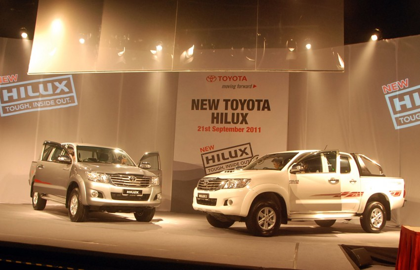 Toyota Hilux facelift launched: 5 variants, RM73k to 107k Image #69957