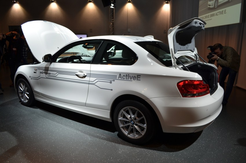 DRIVEN: BMW ActiveE, an electric 1-Series coupe Image #72433