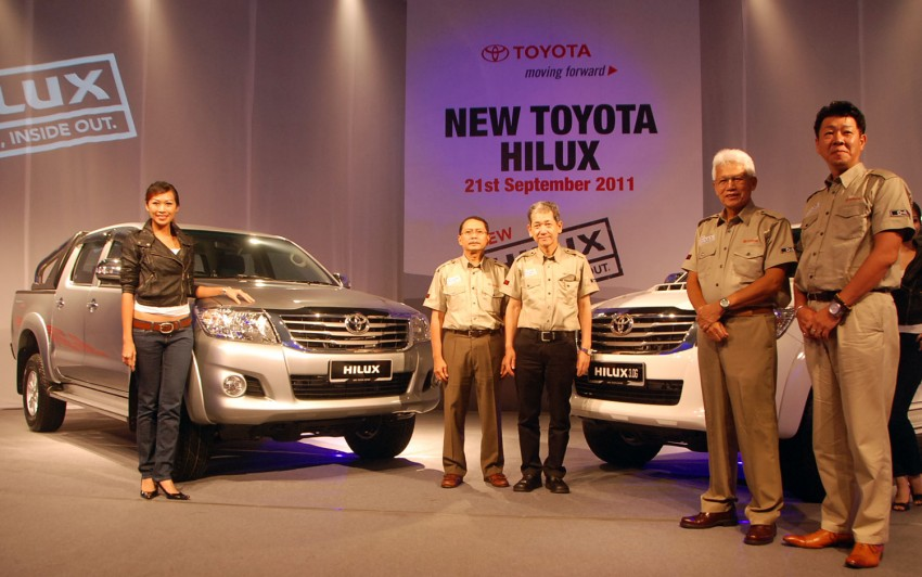 Toyota Hilux facelift launched: 5 variants, RM73k to 107k Image #69958