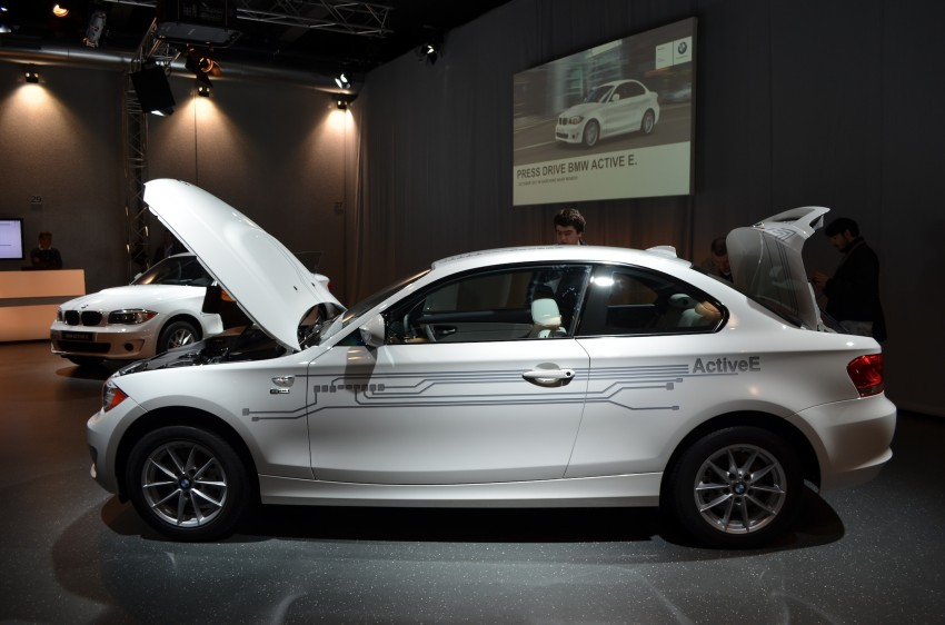 DRIVEN: BMW ActiveE, an electric 1-Series coupe Image #72434