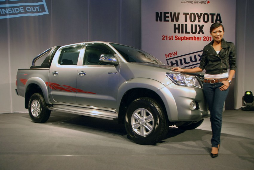 Toyota Hilux facelift launched: 5 variants, RM73k to 107k Image #69962