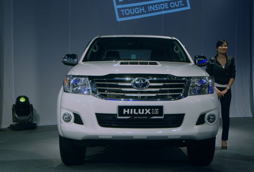 Toyota Hilux facelift launched: 5 variants, RM73k to 107k Image #69963
