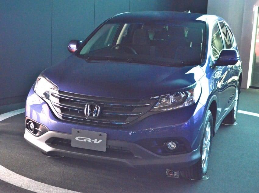 Tokyo 2011 live: Fourth-generation Honda CR-V SUV Image #78397
