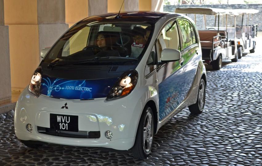 Mitsubishi i-MiEV Eco Tourism Pilot Demo Program at Four Seasons Resort, Langkawi Image #89382