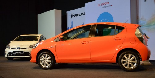 New Toyota Prius C Officially Launched Rm97 000 Otr Paultan Org
