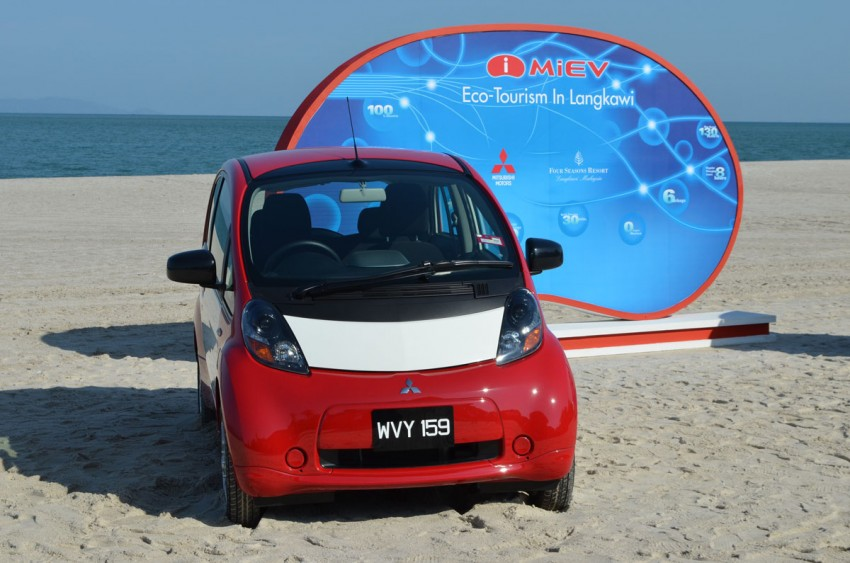 Mitsubishi i-MiEV Eco Tourism Pilot Demo Program at Four Seasons Resort, Langkawi Image #89386