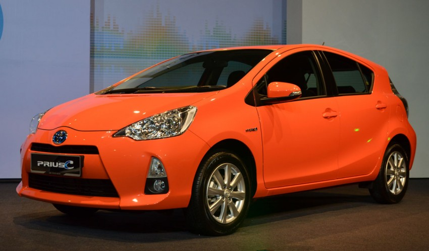 New Toyota Prius c officially launched – RM97,000 OTR! Image #88823