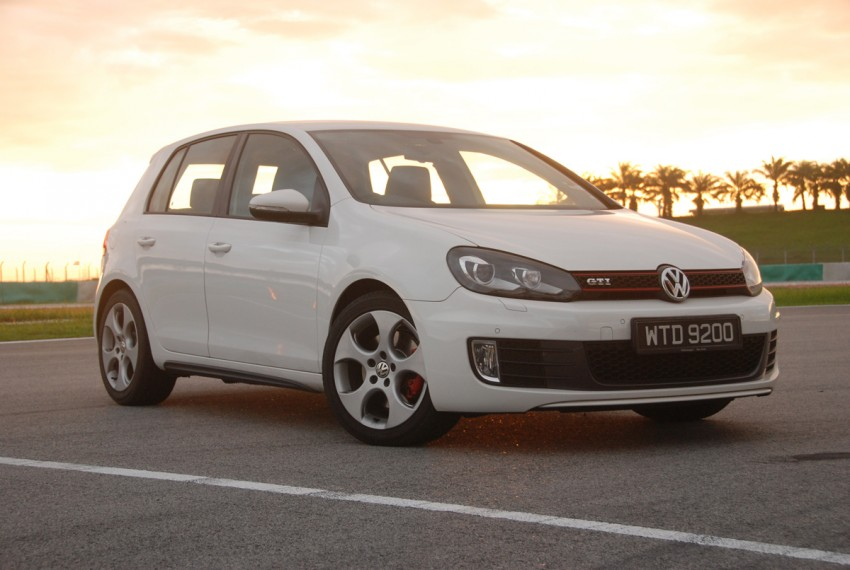 Volkswagen Golf GTI Mk6 Test Drive Review Image #124368