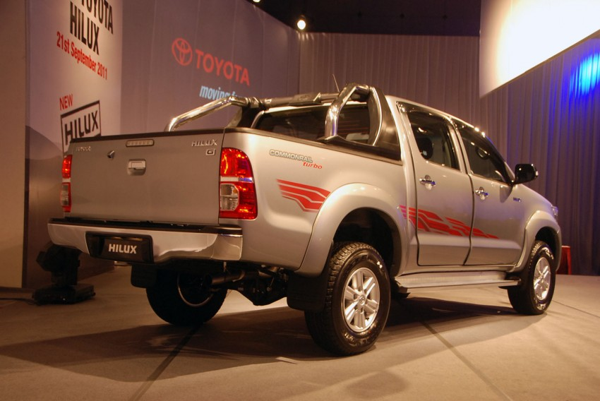 Toyota Hilux facelift launched: 5 variants, RM73k to 107k Image #69976