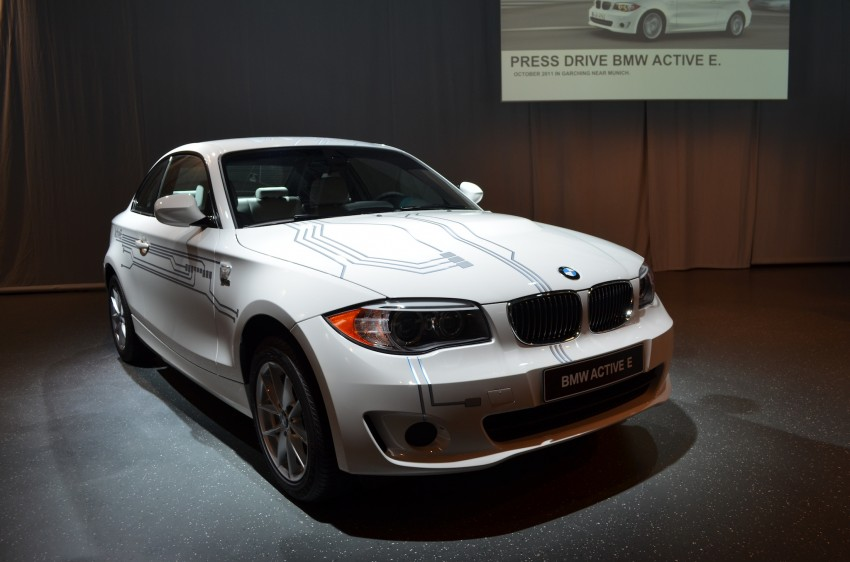 DRIVEN: BMW ActiveE, an electric 1-Series coupe Image #72448