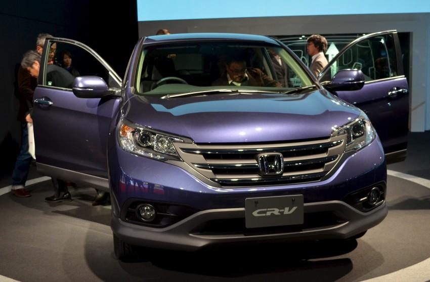 Tokyo 2011 live: Fourth-generation Honda CR-V SUV Image #78401