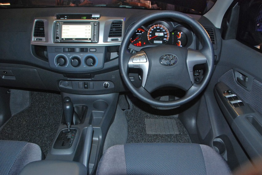 Toyota Hilux facelift launched: 5 variants, RM73k to 107k Image #69980