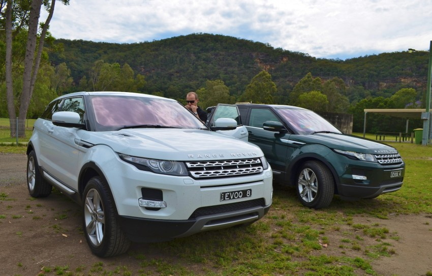 Range Rover Evoque Test Drive Review in Sydney Image #77186