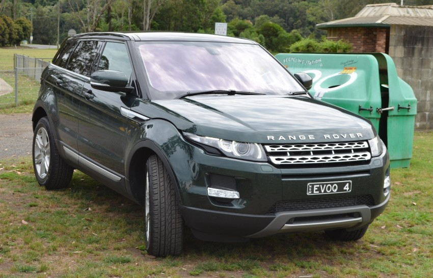 Range Rover Evoque Test Drive Review in Sydney Image #77187