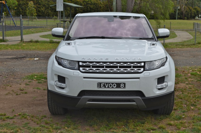 Range Rover Evoque Test Drive Review in Sydney Image #77188