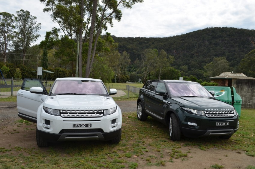Range Rover Evoque Test Drive Review in Sydney Image #77189