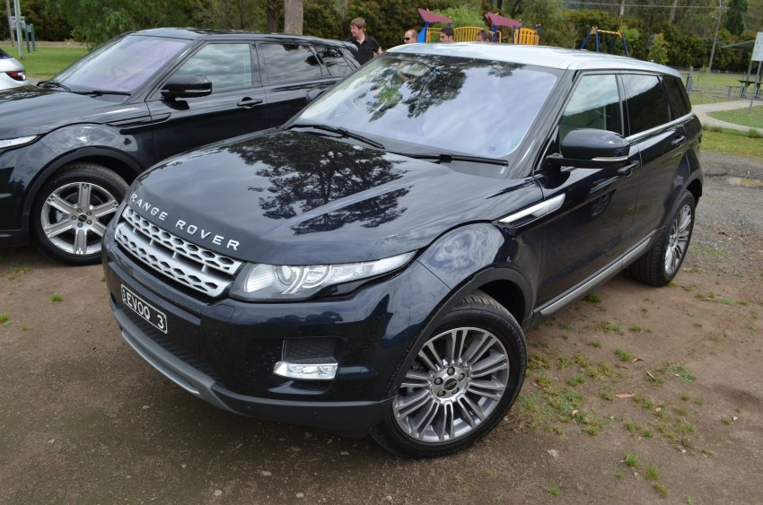 Range Rover Evoque Test Drive Review in Sydney Image #77190