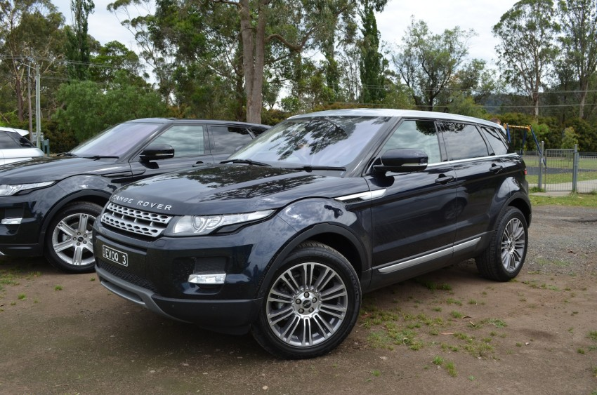 Range Rover Evoque Test Drive Review in Sydney Image #77191