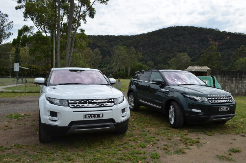 Range Rover Evoque Test Drive Review in Sydney Image #77192