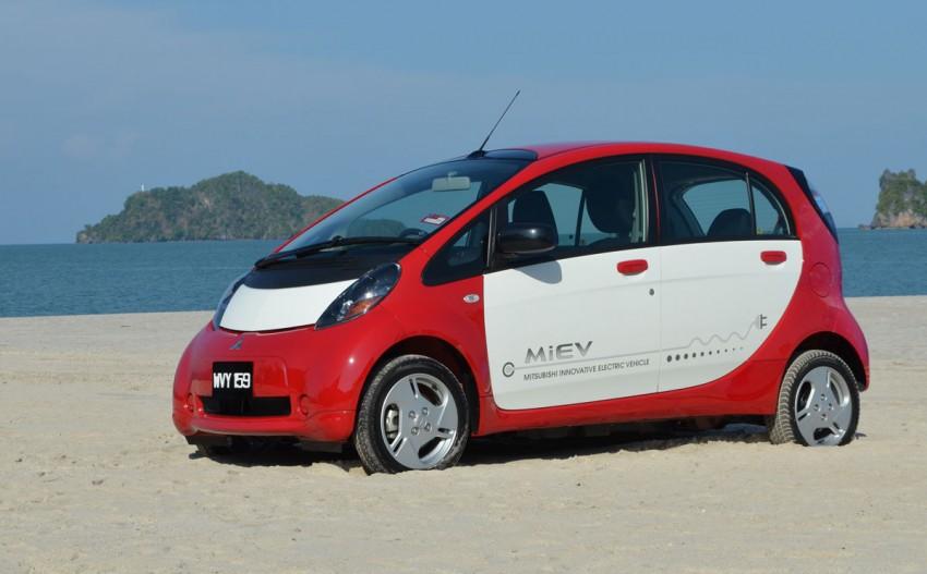 Mitsubishi i-MiEV Eco Tourism Pilot Demo Program at Four Seasons Resort, Langkawi Image #89408