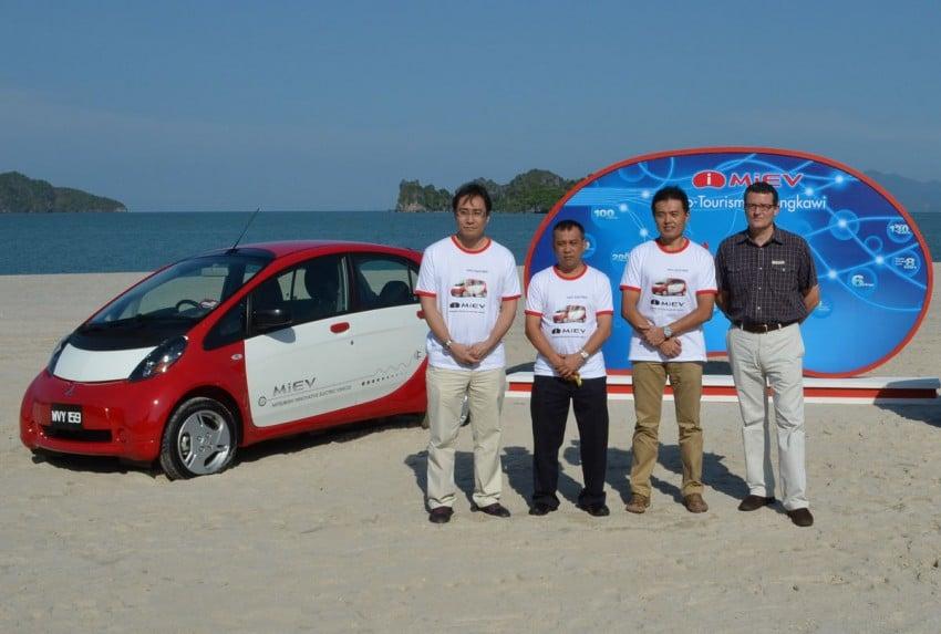 Mitsubishi i-MiEV Eco Tourism Pilot Demo Program at Four Seasons Resort, Langkawi Image #89410