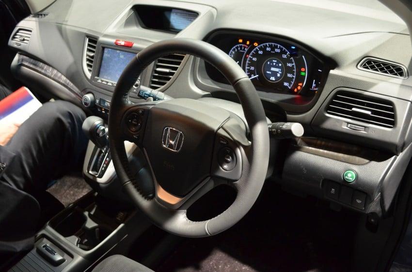 Tokyo 2011 live: Fourth-generation Honda CR-V SUV Image #78413
