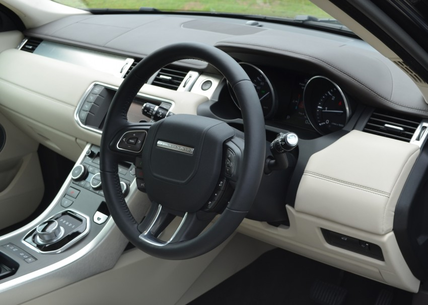 Range Rover Evoque Test Drive Review in Sydney Image #77194
