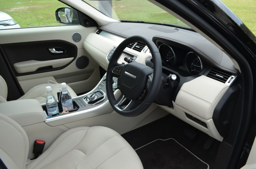 Range Rover Evoque Test Drive Review in Sydney Image #77195