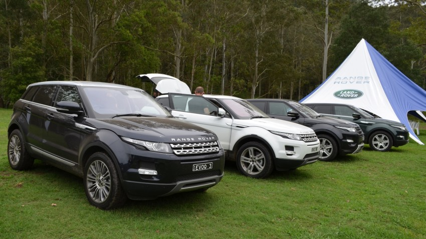 Range Rover Evoque Test Drive Review in Sydney Image #77196