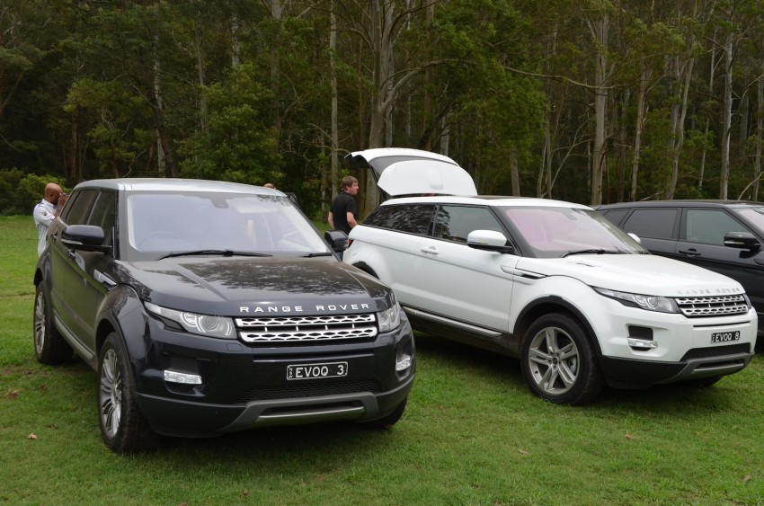 Range Rover Evoque Test Drive Review in Sydney Image #77198