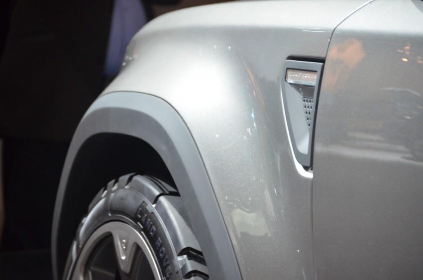 Frankfurt: Land Rover reveals the DC100 and DC100 Sport Defender concepts Image #68984