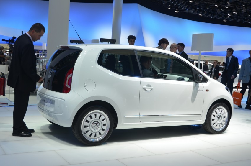 Volkswagen up! – production car debut at Frankfurt 2011 Image #69785