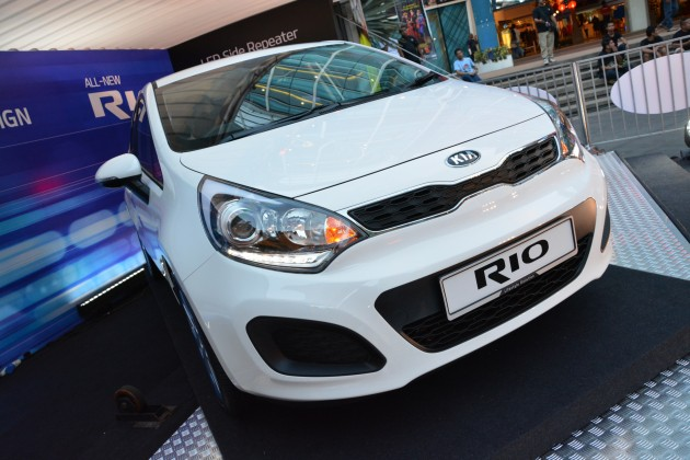 Kia Rio launched - 1 4 EX and SX, RM74k-RM80k