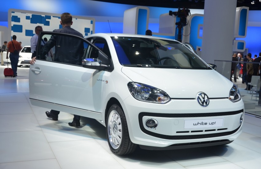 Volkswagen up! – production car debut at Frankfurt 2011 Image #69787