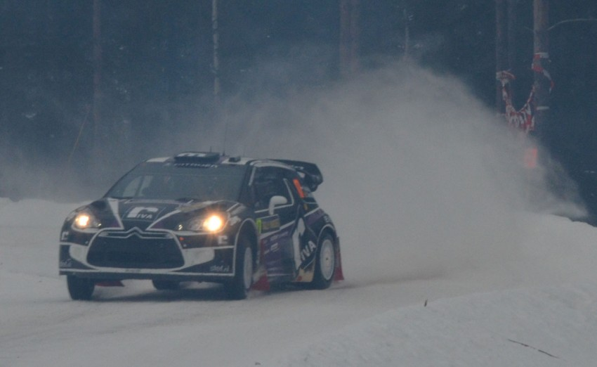 LIVE from Rally Sweden: Ex teammates Hirvonen and Latvala duel at the top, PG Andersson still leading S-WRC Image #87057